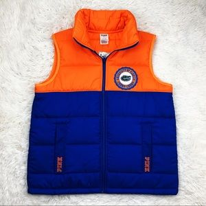 VS University of FL Gators puffer vest size XS